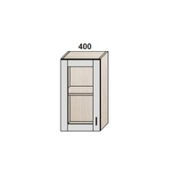 Шкаф 400 мм витрина