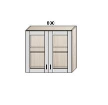 Шкаф 800 мм витрина