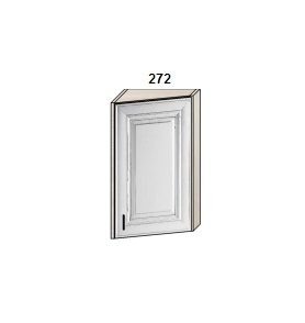Шкаф скошенный 272 мм