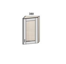Шкаф скошенный 380 мм витрина
