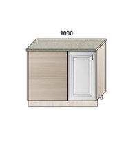 Стол-мойка прямого угла 1000 мм