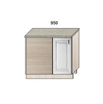 Стол-мойка прямого угла 950 мм